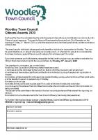 Citizens' Nomination form