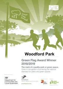 Green Flag Certificate Woodford Park