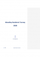Woodley Residents Survey Report 2018
