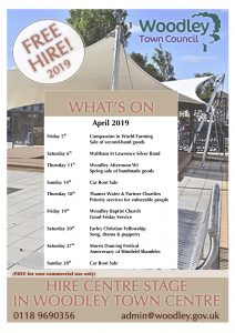 Centre Stage Woodley April 2019