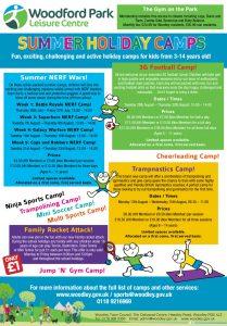 children's activity camps