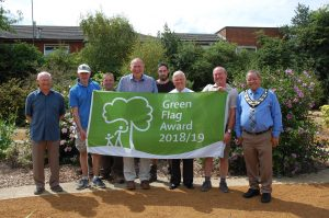 Woodley Woodford Park Green Flag