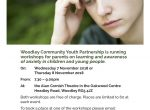 Woodley anxiety workshops