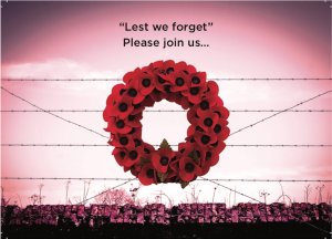Woodley Town Council WWI Centenary Invitation