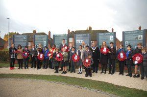 Woodley schools WWI