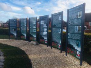 Woodley memorial panels