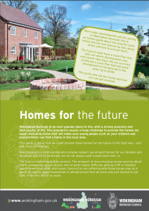 Wokingham Borough Council  Homes for the Future