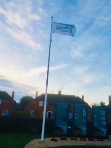 Woodley town council flag