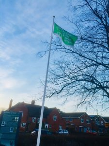 Woodley Green Flag