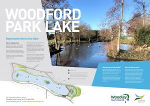 Woodford Park Lake Woodley