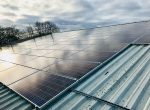 Woodley Town Council solar panels Woodford Park Leisure Centre