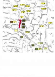 Woodley toilet road closure