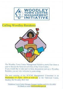 Woodley town centre meeting April 2019