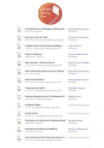 Wokingham wellbeing week
