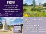 memorial park picnic woodley