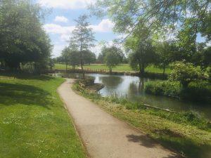 Woodford park lake