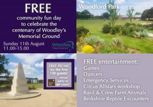 Community picnic Woodley