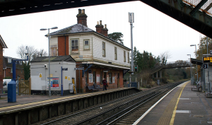 Earley train station