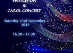 Woodley town centre Christmas lights