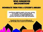citizen's awards woodley 2019