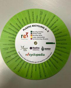 recycling plastic wheel