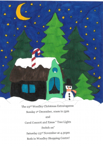 Christmas poster winner woodley town centre 2019