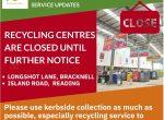 re3 centres closed