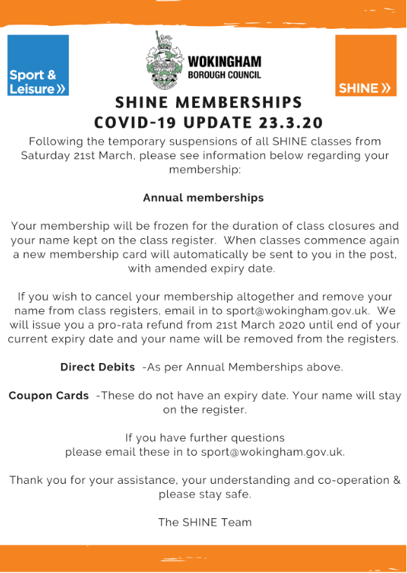 shine memberships