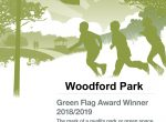 Green Flag Certificate Woodford Park