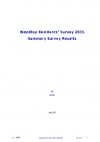 Woodley Residents Survey Report 2015