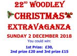 Woodley town centre xmas poster competition