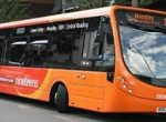 orange buses Woodley
