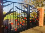 Woodley memorial gates