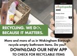 recycling app Woodley