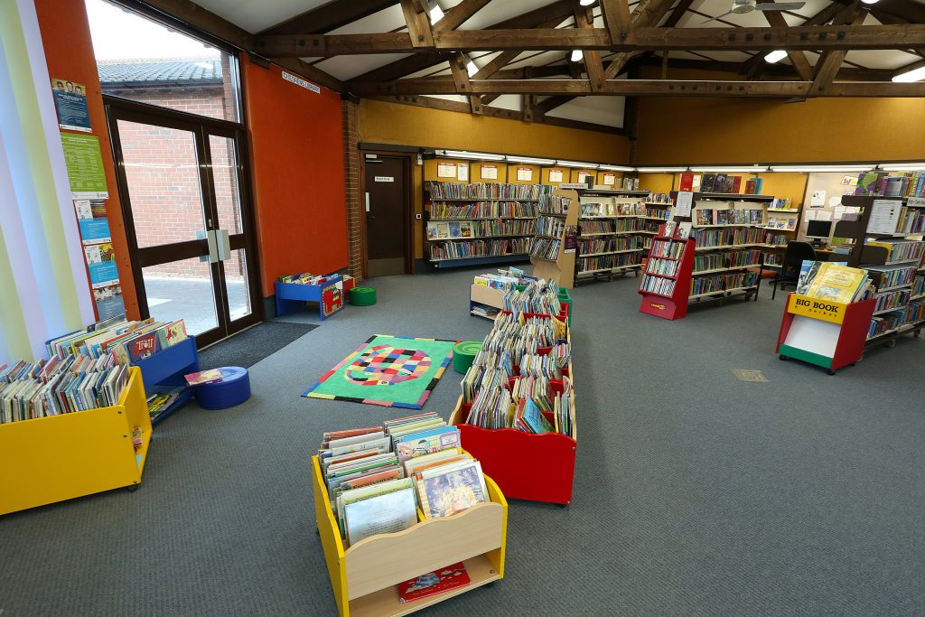 Woodley library