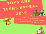 Reading toys and teens appeal
