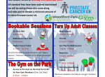 prostate cancer uk Woodford park leisure centre