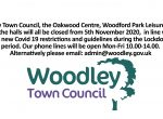 woodley town council closed