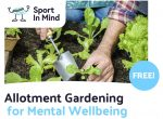allotment gardening for mental wellbeing