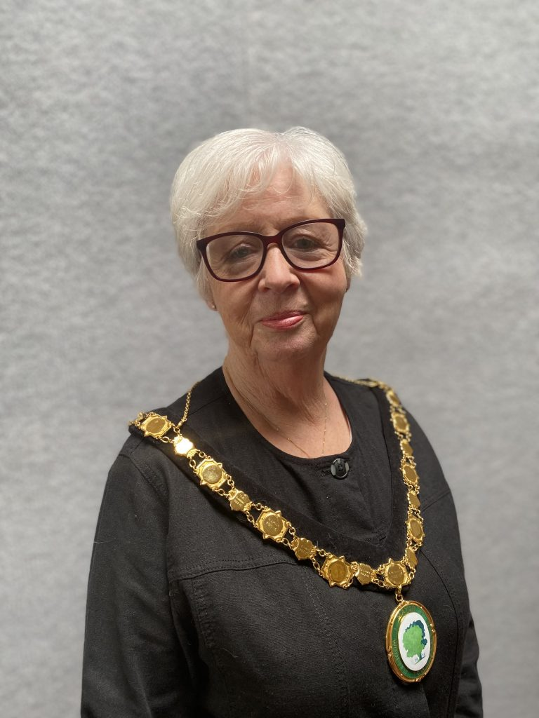 Woodley Town Mayor Janet Sartorel