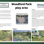 new play area at Woodford Park