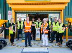 Woodley Town Mayor opens New Woodley Branch of Travis Perkins