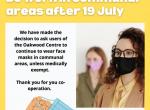 face mask update