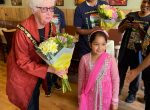 Woodley Town Mayor opens Adda Hut