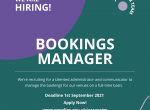 vacancy bookings manager