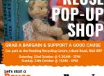re3 pop up shop woodley residents