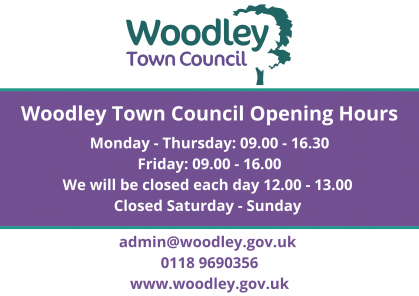 Woodley Town Council Opening Hours